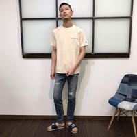 REMIX LINE  オリジナルダメージペイントデニム