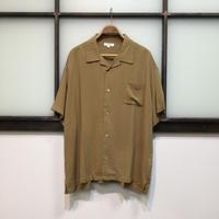 オープンカラービッグシルエットシャツ(全2カラー)