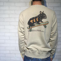 TES TAIL MANUAL BUHI CREWNECK SWEAT