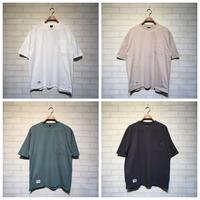 無地 ポケット付き 半袖Tシャツ(全4カラー)