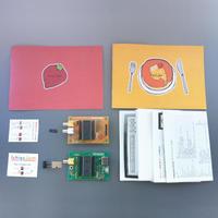 A set of PanCake and IchigoJam pre-assembled circuit board