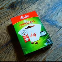 メリタ コーヒーフィルター オリジナル ナチュラルホワイト 1×4