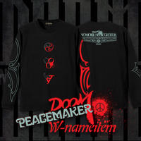 PEACEMAKER × DOOM  W-NAME  LS-T