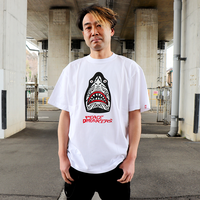 TRIBAL 鮫人PEACE-T / WHT 【PDS×PEACEMAKER】
