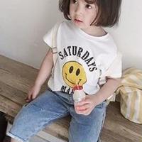 スマイル Tシャツ 男女兼用★新作アパレル★子供 Tシャツ★トップス