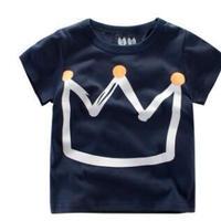 ★春新作★キッズワトップス 男の子用Tシャツ 半袖