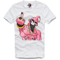 予約販売😊2020/・・春夏の新作E1SYNDICATE  大人気アニメ★ドラゴンボール★魔人 BOOブーパロディTシャツが登場です。
