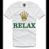 予約販売😊2020/・・春夏の新作E1SYNDICATE ★高級時計ROL○X★RELAX★ロ○ックス♥パロディTシャツ