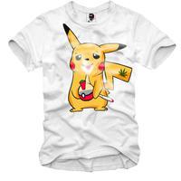 予約販売😊2020/・・春夏の新作E1SYNDICATEほ Tシャツアニメ・悪いピカチュウ・ポケモン・パロディTsyatu 登場です。