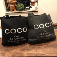 COCOロゴ(≧▽≦)キュート女の子★大好き★大人気のCOCOニットバッグ♥