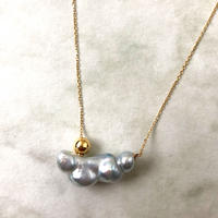 Ball necklace South sea keshi