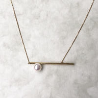 Border line necklace / silver925