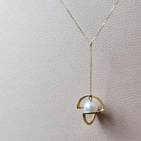 Planet necklace / 18K