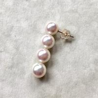4 pearl pierce (1 piece)