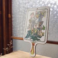 木製vintage天使のカッティングボード