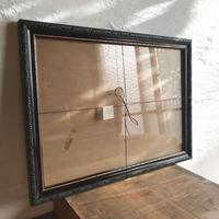古物/額〈ガラス付き〉 48cm×35cm
