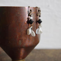 pecoranera original costume jewelry/vintage parts  earring