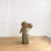 ペッパー少年(陶器)12.5 cm