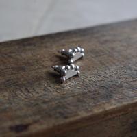 vue.日常のかたち「poco」ピアス/silver