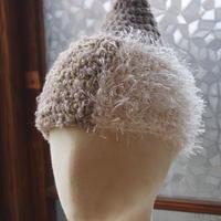 sin sin A/W カラフルニット帽(ホワイト)