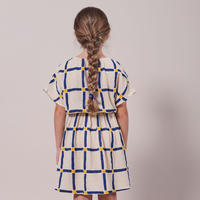 "【 BOBO CHOSES 21SS 】Cube All Over Woven Dress(121AC106)""ワンピース"""
