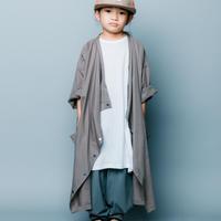 【 nunuforme 2020SS 】シャツコート [nf13-212-091]  / Gray