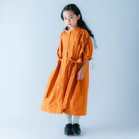 【 nunuforme 21SS 】リボンワンピース [31-nf15-437-018] / Orange