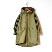 "【 MOUN TEN. 2020AW 】ventile coat [MT201001-c] "" コート ""  / khaki / 1(Ladies F)"