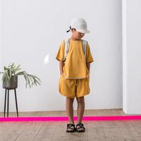 【 MOUN TEN. 2020SS 】french terry kimonosleeve T [MT201023-a] / orange