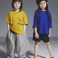 【 GRIS 2019SS 】Big T-Shirts / Mustard / S(105-120cm)