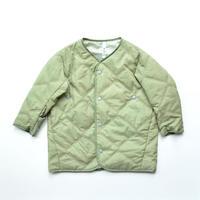"""【 MOUN TEN. 20AW 】quilt mitten coat  [MT202035] """" コート """"  / sage / 0(150-160)"""