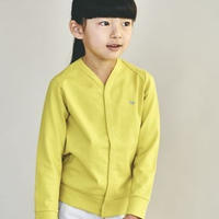 """【 ミナペルホネン 19SS 】XS8956P zutto """"カーディガン"""" / yellow / 80-100cm"""