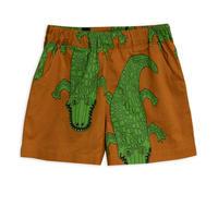 【 mini rodini 2019SS 】30106  Crocco woven shorts / Brown