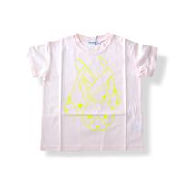 "【 franky grow 21SS 】RABBIT MIX TEE [21SCS-381] "" Tシャツ "" / PINK / LL(9〜11歳)"