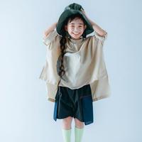 【 nunuforme 21SS 】サークルパッチシャツ [30-nf15-569-015] / Beige