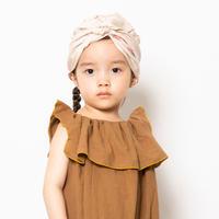 "【 folk made 21SS 】face print turban "" ターバン "" / beige /  F(レディースサイズ)"
