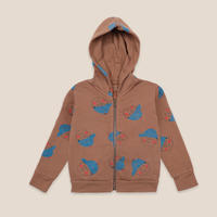 "【 BOBO CHOSES 20AW 】Boy All Over Zipped Hoodie(22001158)""フーディー"""
