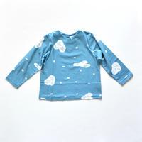 """【 ミナペルホネン 19AW 】XA8021P trois   """"カットソー"""" / blue  / 110-140cm"""