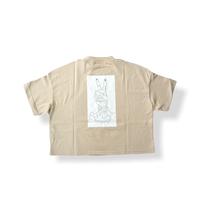 """【 UNIONINI 21SS 】peace rocket tee  """" Tシャツ """"  / beige"""