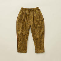 "【 eLfinFolk 20AW 】wild flower pant(elf-202F17)""パンツ"" /  mustard / size 140 - 150"