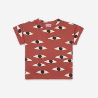 "【 BOBO CHOSES 21SS 】Eyes All Over Short Sleeve T-Shirt(121AC009)""Tシャツ"""