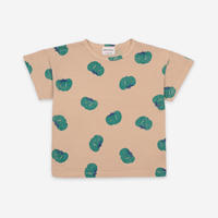 """【 BOBO CHOSES 21SS 】Tomatoes All Over Short Sleeve T-Shirt(121AC011)""""Tシャツ"""""""