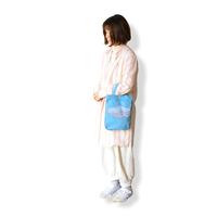 """【 ミナペルホネン 21SS 】ZS7005P after rain """" バッグ 小""""  / blue"""