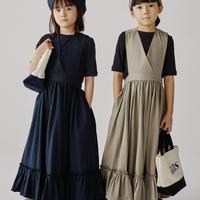"""【 GRIS 2020SS 】GR20SS-DR003 """"Apron Dress"""" / Grege / S(100-120)"""