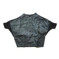 "【 franky grow 20AW 】PENTAGON DRESS [20FWOP-161HD] "" ワンピース "" / BLACK*DEEP BLACK / LL  (9〜11歳)"