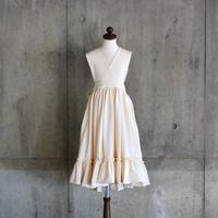 "【 GRIS 2020SS 】GR20SS-DR003 ""Apron Dress"" / Ecru / S(100-120)"
