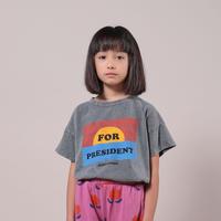 "【 BOBO CHOSES 21SS 】For President Short Sleeve T-Shirt(121AC149)""Tシャツ"""