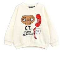 "【 E.T. x mini rodini 】 E.T. sp sweatshirt(21320105) ""トップス""  / Offwhite"