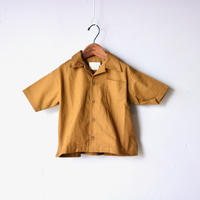 【 SWOON 20SS 】sw13-504-025 オープンネックシャツ / Brown