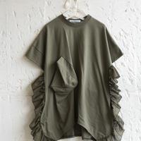 【 UNIONINI 2019SS 】OP-055 ◯△ dress /  / Kahki  / 4 -10歳